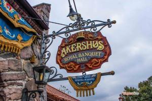 Restaurante Akershus, no Epcot, ótima opção para intolerantes à Lactose
