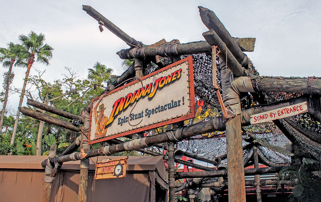 Indiana Jones Epic Stunt Spectacular no Disney's Hollywood Studios