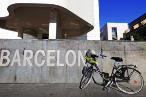 Barcelona de bike