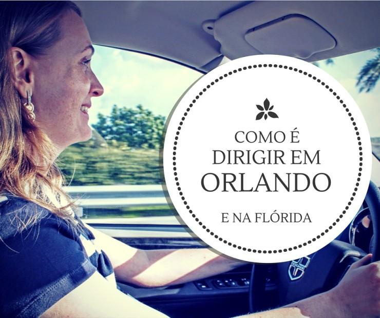 Como é a experiência de dirigir em Orlando