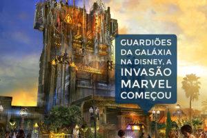 Marvel começa a invadir os parques da Disney com força total