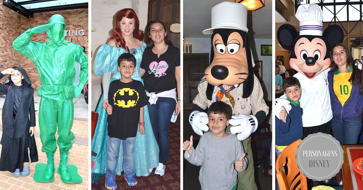 Coletânea de personagens Disney