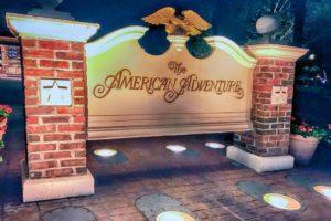 The American Adventure, no parque Epcot